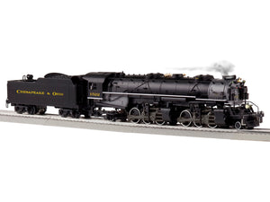 "Lionel 6-85176 - Legacy 2-6-6-2 Steam Engine ""Chesapeake & Ohio"" #1522"
