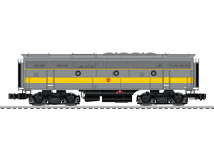 "Lionel 6-85204 - Legacy F3 B-Unit ""New York Ontario & Western"" #821B (Powered)"