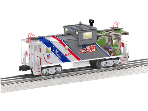 lionel 6 85316 wide vision caboose the spirit of the union