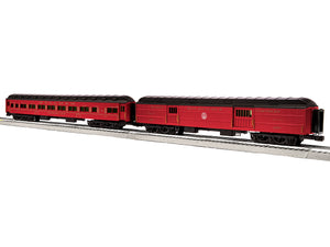 "Lionel 6-85370 - 18"" Excursion & Business Baggage/Parlor Cars ""Reading & Northern"" (2-Car) Set A"