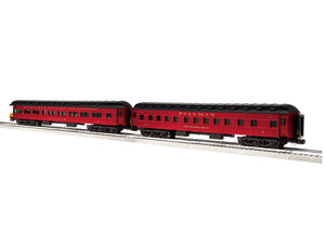 "Lionel 6-85373 - 18"" Excursion & Business Pullman/Observation Cars ""Reading & Northern"" (2-Car) Set B"