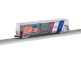 "Lionel 6-85408 - Union Pacific LED Flag Boxcar ""1943 Spirit of Union Pacific"""