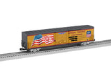 "Lionel 6-85409 - Union Pacific LED Flag Boxcar ""Steam Program"" #4-8-8-4"