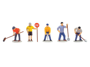 Lionel 6-14241 - Work Crew People Pack (5-Pack)