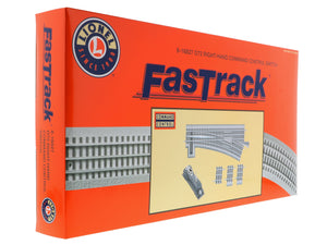 Lionel 6-16827 - FasTrack - O-72 Command Control Switch (Right)