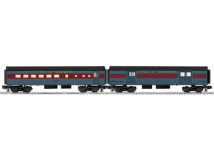 "Lionel 6-35290 - Streamliner Passenger Car Add-On ""The Polar Express"" (2-Car)"