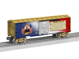 "Lionel 6-39339 - Presidents of the US Boxcar ""Theodore Roosevelt"""