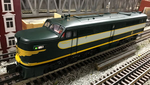 "MTH 20-21269-1 - Alco PA A Unit Diesel Engine ""Erie"" #853 w/ PS3 - Custom Run for MrMuffin'sTrains"