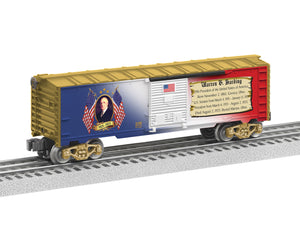 "Lionel 6-81489 - Presidents of the US Boxcar ""Warren G. Harding"""