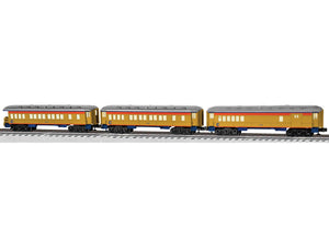 "Lionel 6-81644 - Baby Madison Combo/Coach/Observation Passenger Car ""Chessie System"" (3-Car)"