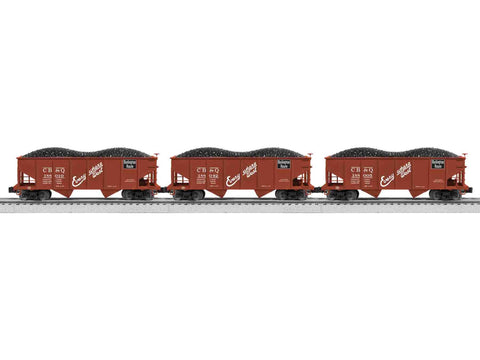 "Lionel 6-81688 - 50-Ton Twin Hopper ""Burlington"" (3-Car)"