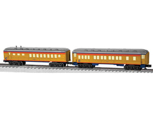 "Lionel 6-81768 - Baby Madison Coach/Diner Passenger Car ""Chessie System"" (2-Car)"