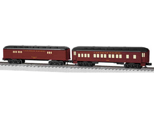 "Lionel 6-81784 - Baby Madison Coach/Baggage Passenger Car ""Canadian Pacific"" (2-Car)"