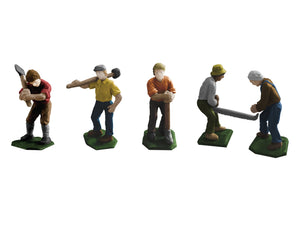 Lionel 6-81871 - Loggers Figure (5-Pack)