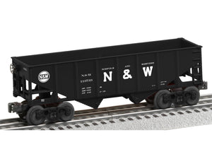 "Lionel 6-82411 - 2-Bay Coal Hopper ""Norfolk & Western"""