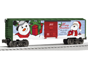 "Lionel 6-82691 - Boxcar ""2015 Christmas"""