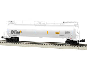 "Lionel 6-85133 - TankTrain Intermediate Car ""GATX"" #18641 (White)"
