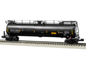 "Lionel 6-85147 - TankTrain Intermediate Car ""GATX"" #48640 (Black)"