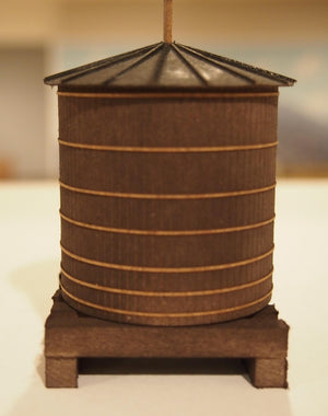 Korber Models #701 - O Scale - Roof Top Wood Water Tank Kit