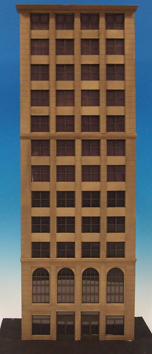 Korber Models #702 - O Scale - Background Tall City Building Kit