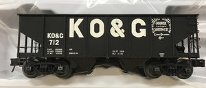 "Atlas O 3005813 - 55-Ton Coal Hopper ""Kansas Oklahoma & Gulf"""