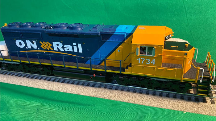 "MTH 20-21168-1 - SD40-2 Diesel Engine ""Ontario Northland"" #1734 w/ PS3"