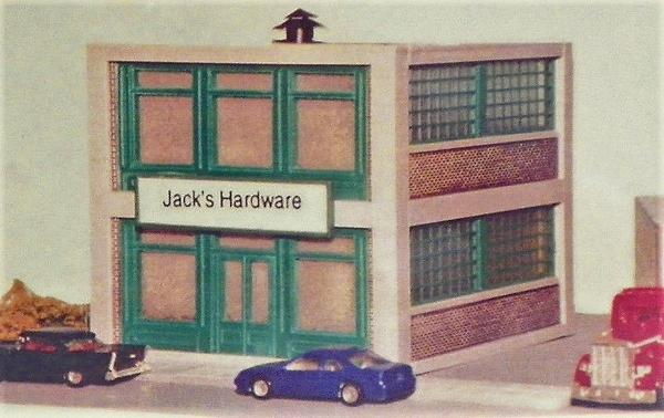 Korber Models #807 - HO Scale - Jack's Hardware Kit