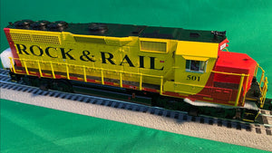 "MTH 20-21203-1 - GP-40 Diesel Engine ""Rock & Rail"" #401 w/ PS3 (Hi-Rail Wheels)"