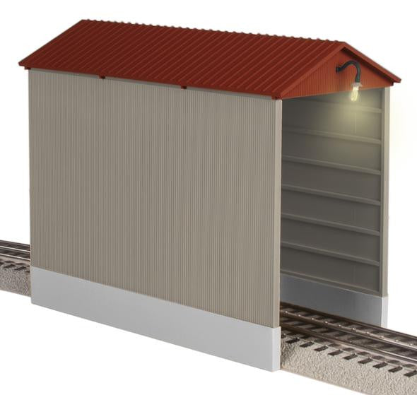 Lionel 6-82333 - Illuminated Hopper Shed
