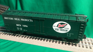 "MTH 30-78190 - Modern Reefer Car ""Breyers"""