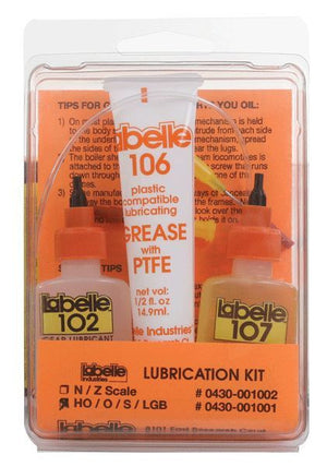 Labelle 430-1001- Lubrication Kit (For HO / O / S / Lionel / LGB)