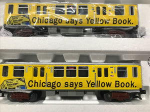 "MTH 30-20577-1 - 3200 Series Subway Set ""Yellowbook"" w/ PS3 (4-Car)"
