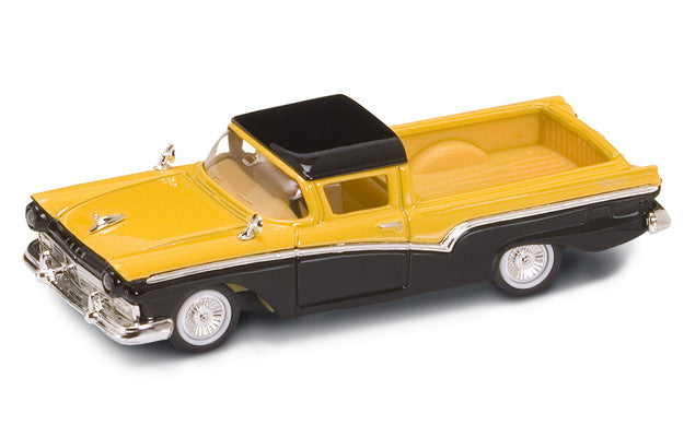 Lucky Die Cast 94215 - 1957 Ford Ranchero (Yellow) 1/43 Diecast Car
