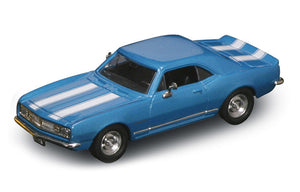 1967 Chevrolet Camaro Z-28 (Blue) 1/43 Diecast Car by Road Signature
