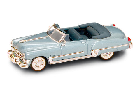 1949 Cadillac Coupe De Ville (Metallic Blue) 1/43 Diecast Car by Road Signature