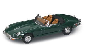1971 Jaguar E-Type (Green) 1/43 Diecast Car by Road Signature