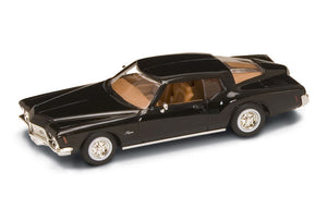 1971 Buick Riviera GS (Black) 1/43 Diecast Car by Road Signature