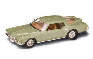 1971 Buick Riviera GS (Green) 1/43 Diecast Car by Road Signature