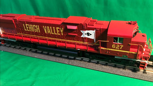 "MTH 30-20665-1 - C628 Diesel Engine ""Lehigh Valley"" #627 w/ PS3"