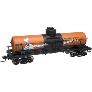 "Atlas O 8641 - ACF 8,000 Gallon Tank Car ""Agash Refining Corp"""