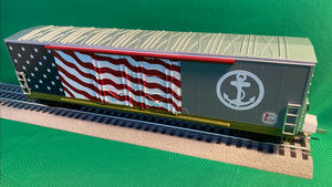 "MTH 20-93870 - 50' Dbl. Door Plugged Boxcar ""Kansas City Southern"""