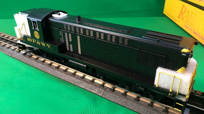"MTH 30-20591-1 - AS-616 Diesel Engine ""Pittsburgh & West Virginia"" #40 w/ PS3"