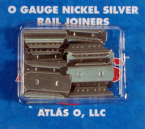 Atlas O 6091 - Nickle Silver Rail Joiners (16-Pack)