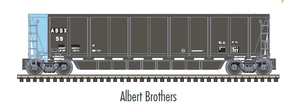 "Atlas O 3005608 - MASTER - Coalveyor Bathtub Gondola ""Albert Brothers"""