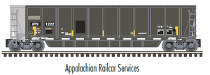 "Atlas O 3005610 - MASTER - Coalveyor Bathtub Gondola ""Appalachian Railcar Services"""