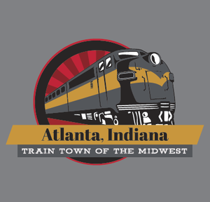 "Hooded Sweatshirt - ""Atlanta, Indiana"" Adult"