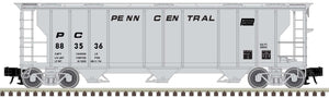 "Atlas O 2002517 - Trainman - 3-Bay PS-2 Covered Hopper ""Penn Central"""