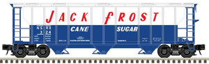 "Atlas O 2002519 - Trainman - 3-Bay PS-2 Covered Hopper ""Jack Frost"""