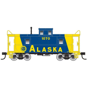"Atlas O 2003058 - Trainman - C&O Cupola Caboose ""Alaska"" (2-Rail)"