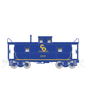 "Atlas O 2003059 - Trainman - C&O Cupola Caboose ""Chesapeake & Ohio"" (2-Rail)"